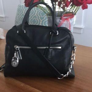 Michael Kors Black crossbody bag with strap